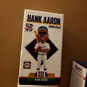 NIB Hank Aaron bobblehead